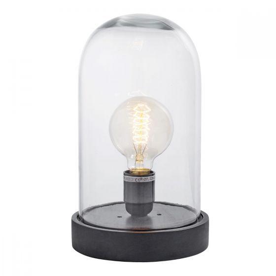 Tafellamp Dome zwart