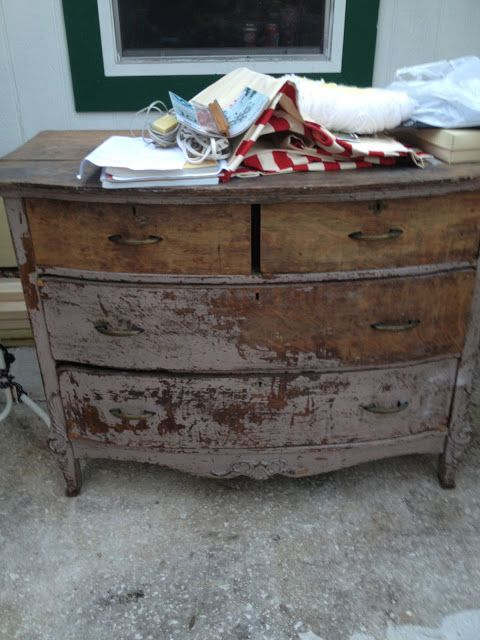 *** It's Just Me: The Dresser I Almost Let Get Away - Furniture Re-Do's ***
