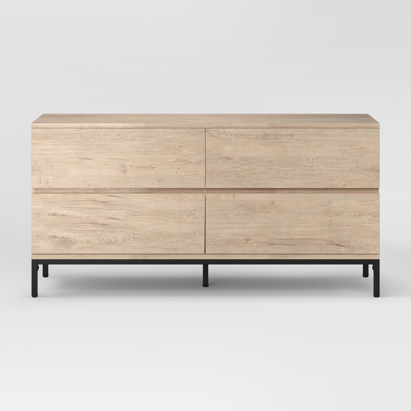 Keep Your Bedroom Organized In Chic Style With The Loring Four Drawer Dresser From Project 62 153 This Large 4 Drawer Dresser Dresser Drawers Walnut Dresser