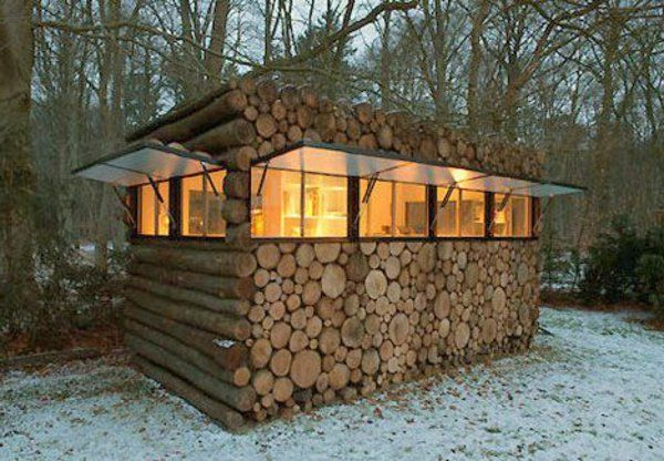 Un abri de jardin - design differents - Archzine.fr | Tiny houses ...