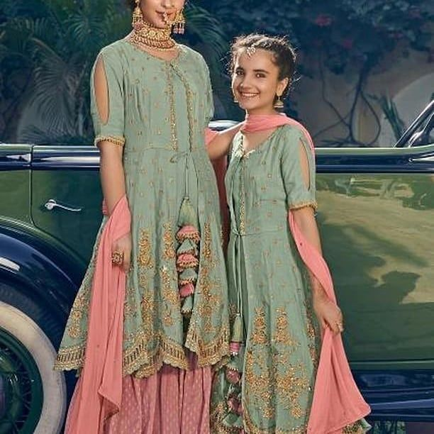 b6adc8bc69 Watch the Best YouTube Videos Online - Latest mother daughter outfits. We  do all sorts of outfits for weddings mehendi bridesmaids etc.