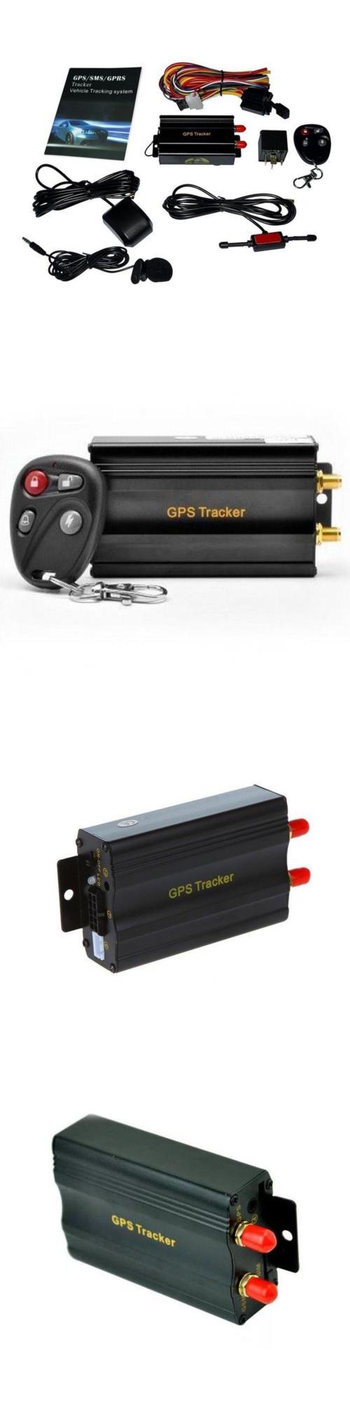 Tracking Devices: Redsun New Gps Sms Gprs Tracker Tk103b Vehicle