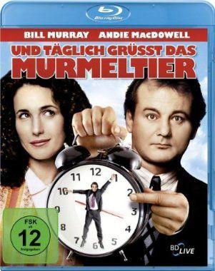 ...und täglich grüßt das Murmeltier  1993 USA      IMDB Rating 8,1 (227.170)  Darsteller: Bill Murray, Andie MacDowell, Chris Elliott, Stephen Tobolowsky, Brian Doyle-Murray,  Genre: Comedy, Drama, Fantasy,  FSK: 6