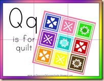 Quilt activities from Confessions of a Homeschooler | Pre-K Ideas ... : q is for quilt - Adamdwight.com