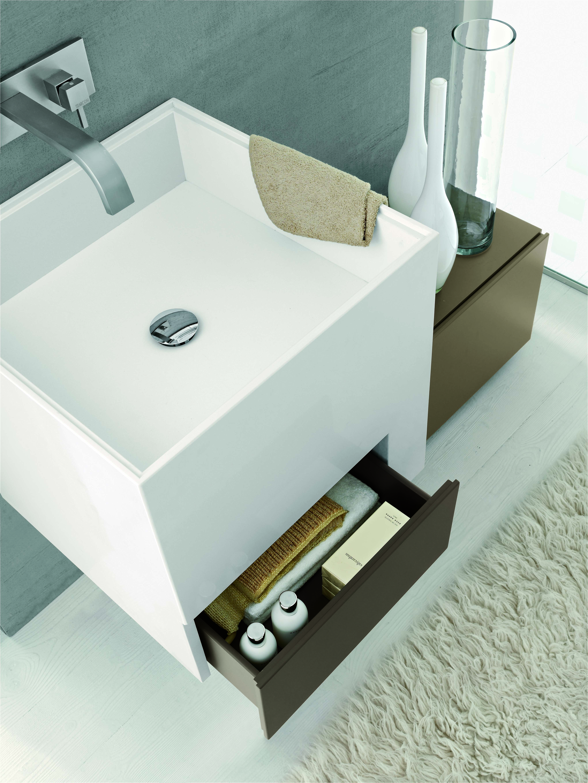 lavabo suspendu en pierre blocco by ar arredobagno bathroom