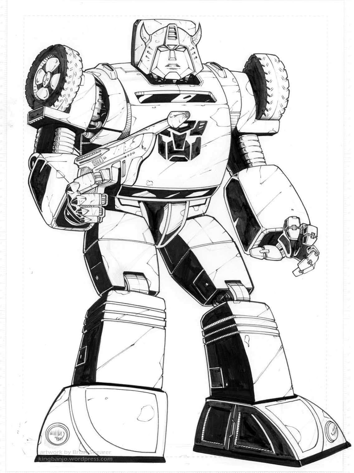 Transformers coloring pages | http://www.rvspug.org | Pinterest