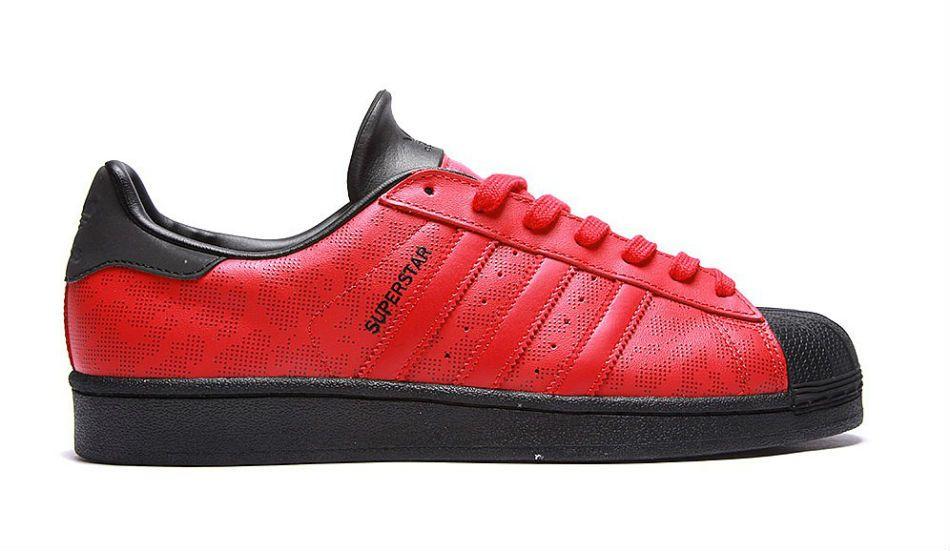 the best attitude d255a 9cf2c adidas Originals Superstar Camo 15 Red Black