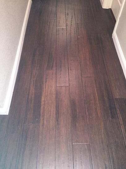 Home Decorators Collection Hand Scraped Strand Woven Brown 3 8 In