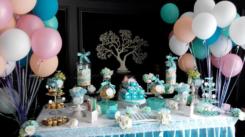 candy baby shower bridal shower tiffany blue candy bar pinterest
