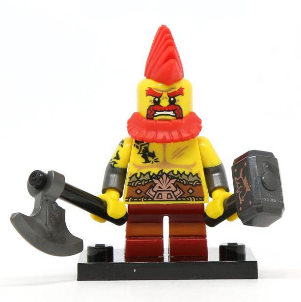 Lego Series 17 Battle Dwarf Minifigure