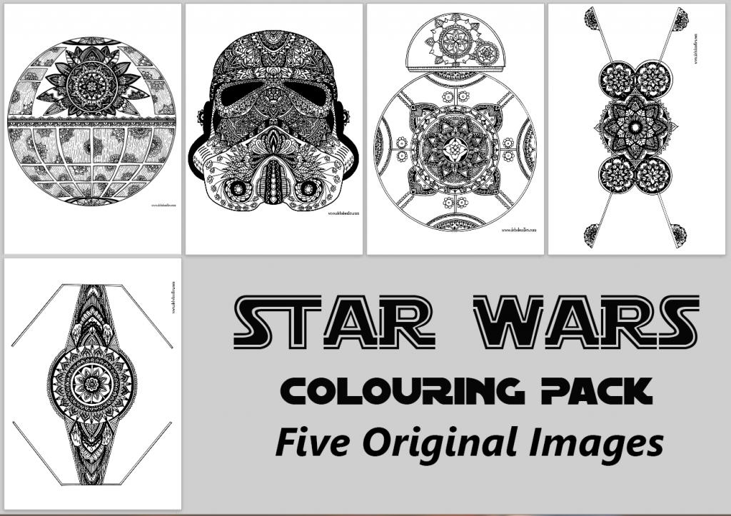 star wars coloring pages | X: Star Wars stuff | Pinterest | Ocupada ...