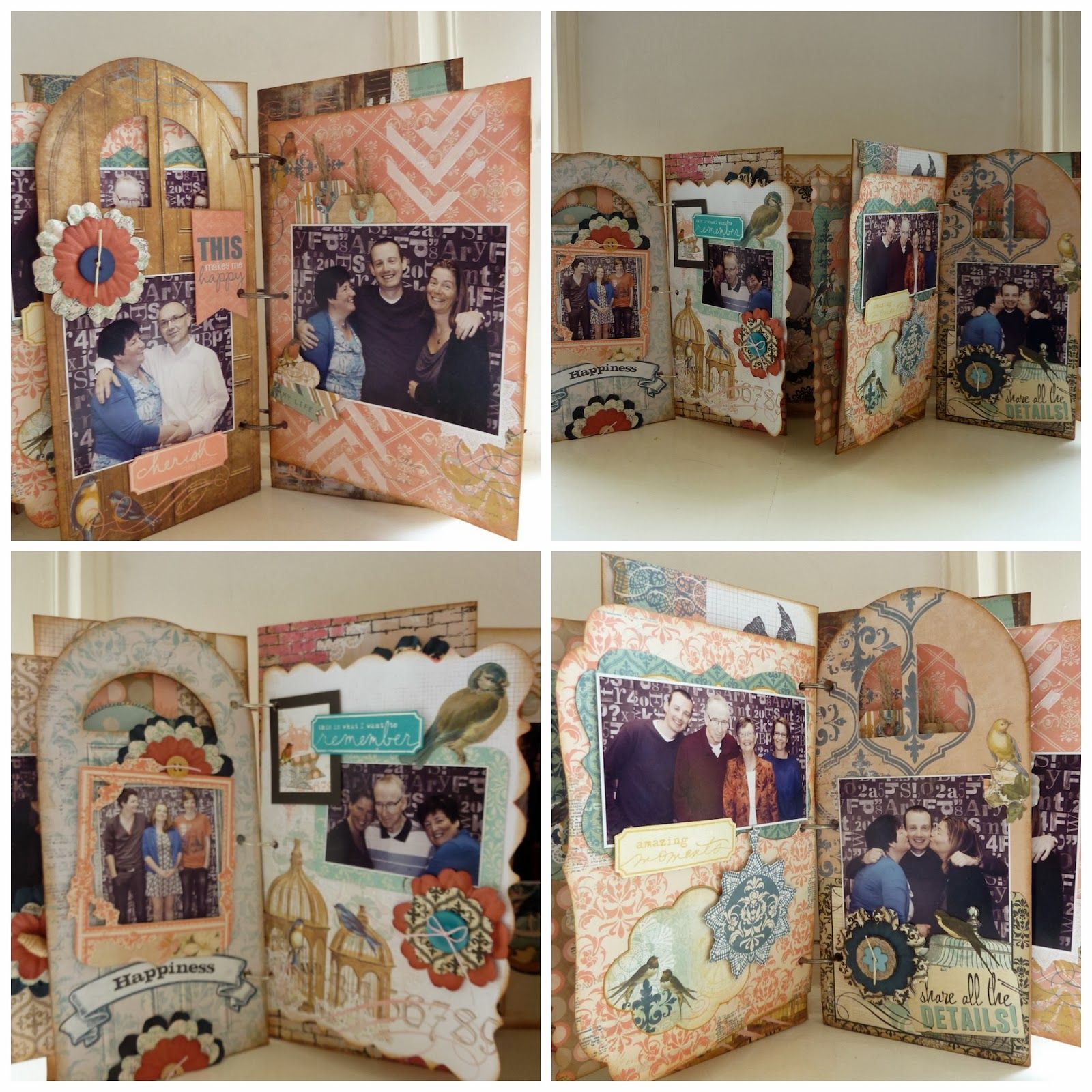 De Craftorij: Bo Bunny The Avenues - mini album door Rianne