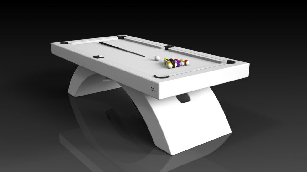 Zenith Pool White The Zenith Pool Table Can Be Customized In