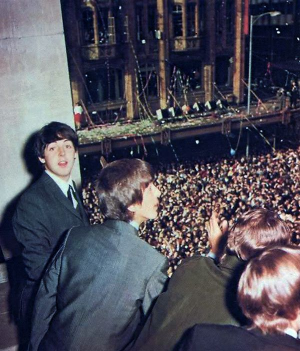 Bildresultat för The Beatles Victorian shows in Melbourne Australia 1964