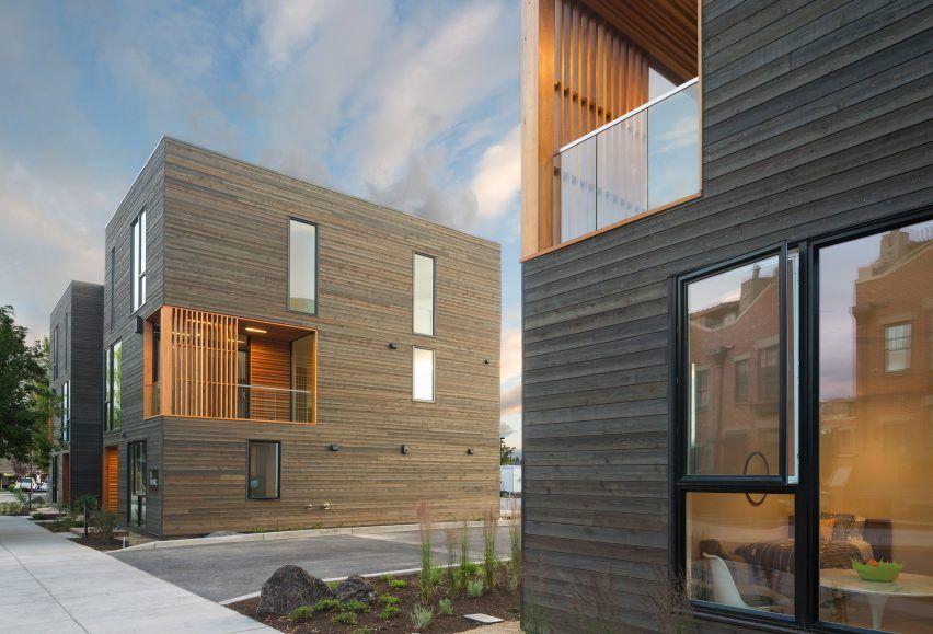 Hacker Architects entwirft Wohnungen in Zentral-Oregon für Naturliebhaber   – arch