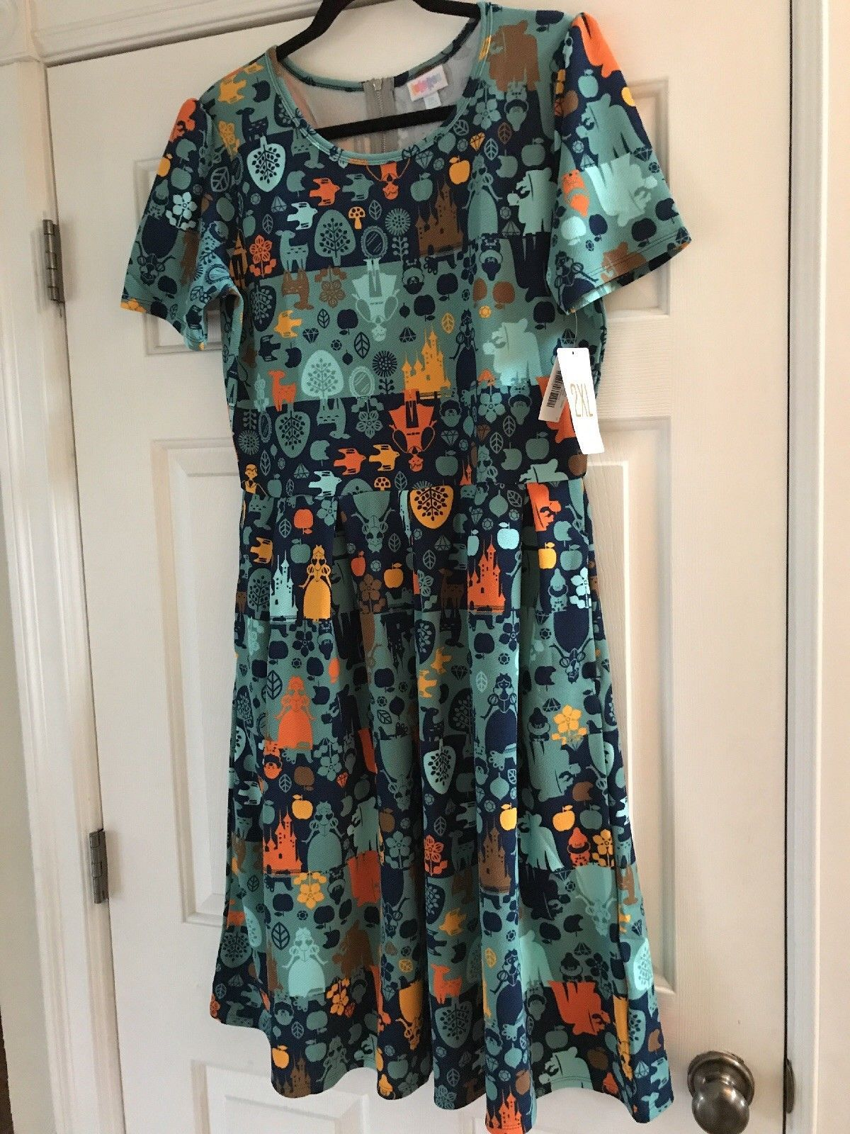 6cb8057b4e LuLaRoe Amelia Dress Disney Princess Snow White NEW Frozen RELEASE 2xl xxl  Green