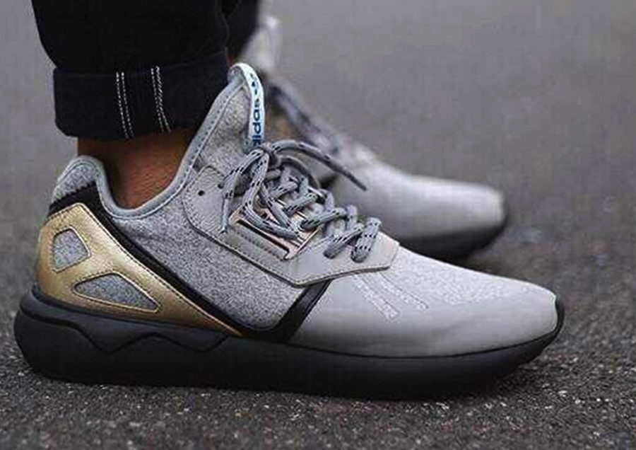 best authentic ed936 f07a3 Adidas Tubular Runner New Years Eve NYE Gray Black Gold B35640  174.00