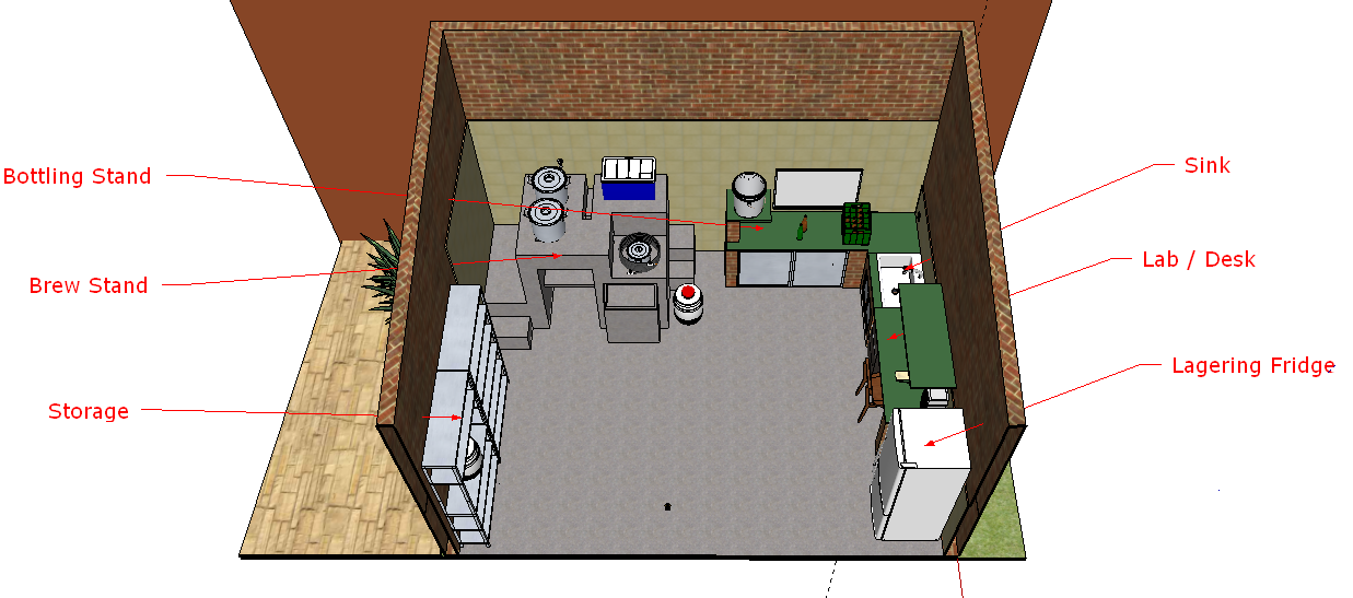 Brewing Room Design   Page 2   Home Brew Forums