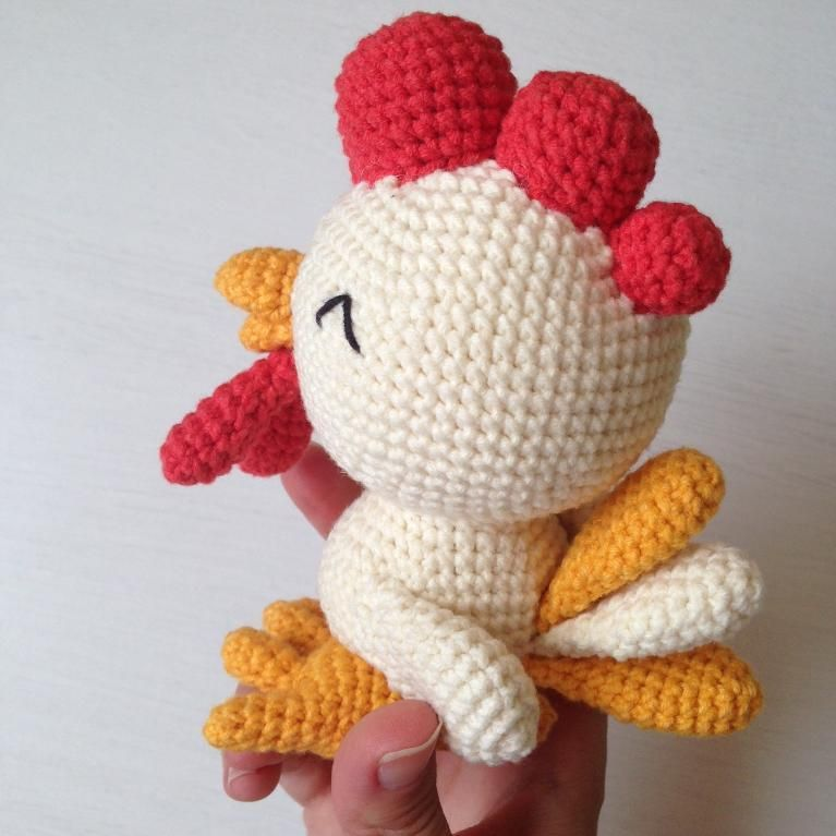 Pattern Small Rooster Designers Patterns And Amigurumi
