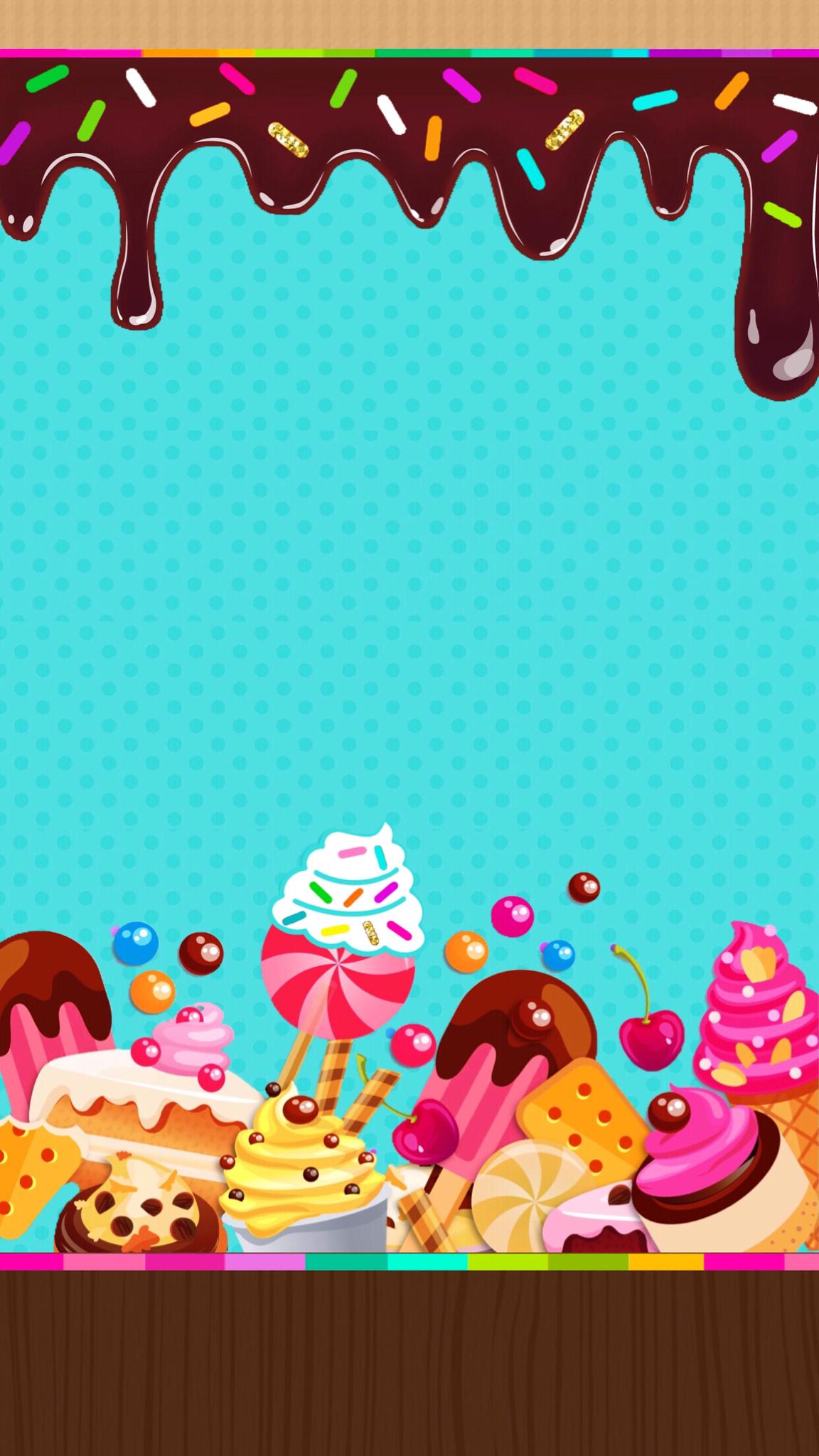 Dropbox Sweet Treats Wallpaper In 2019 Cupcakes
