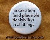 Plausible deniability..