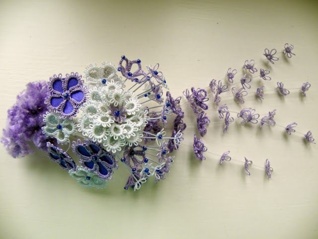 3D Tatting Flowers | 3D collection No.3