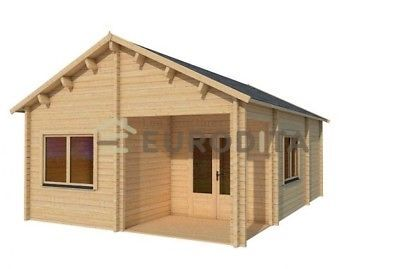 Eurodita 3 Bedroom Prefab House Log Cabin Pool House Guest House ...