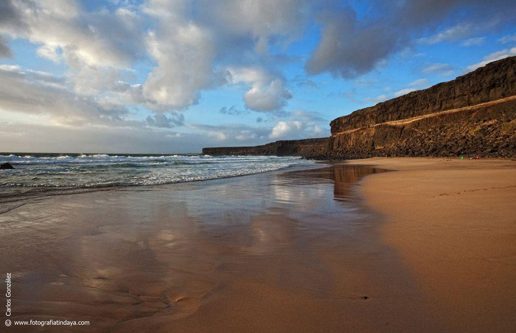 Playa de Las Escaleritas, Fuerteventura Paisajes, Playa