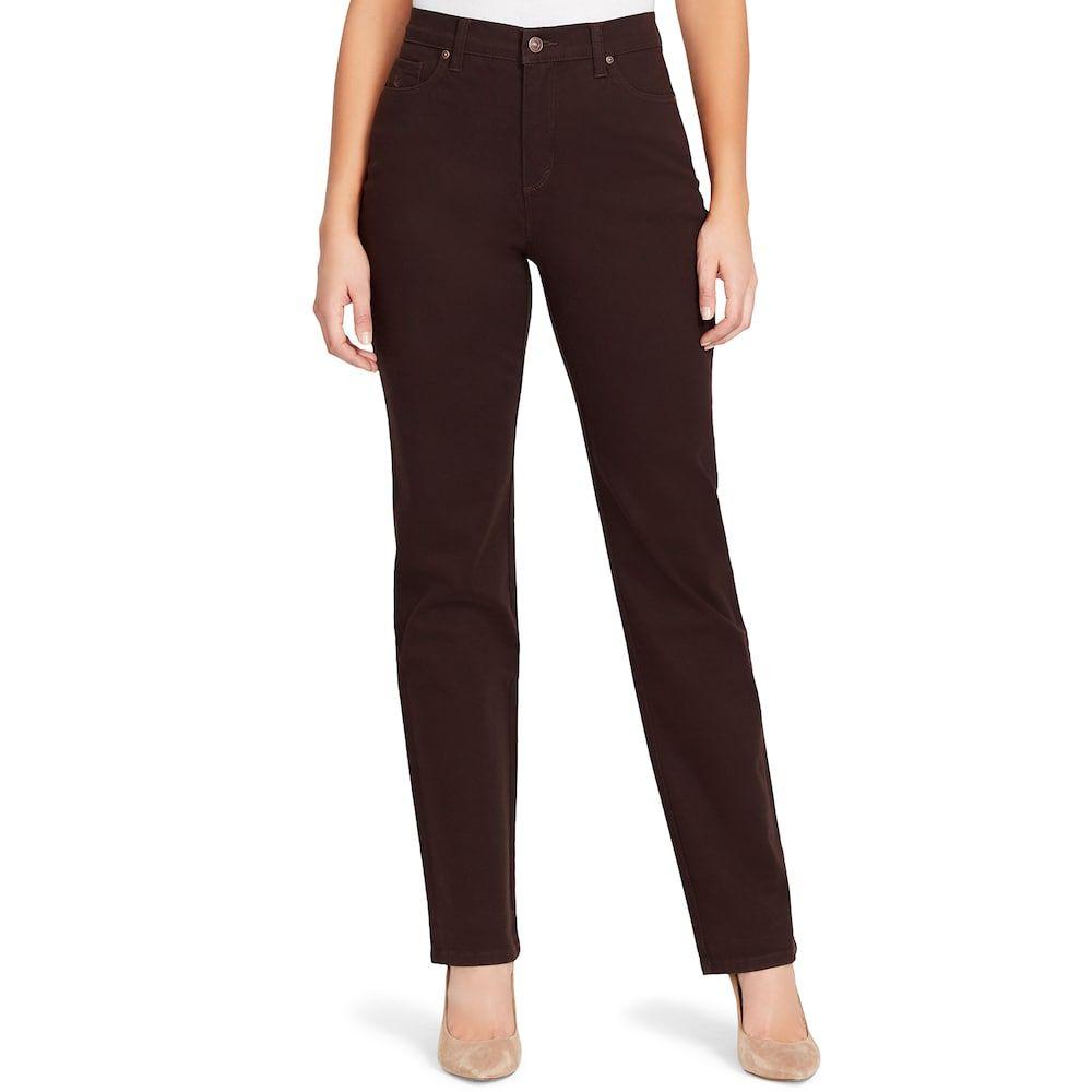 Gloria Vanderbilt Ladies/' Amanda Stretch Denim Jeans BLACK Select Size