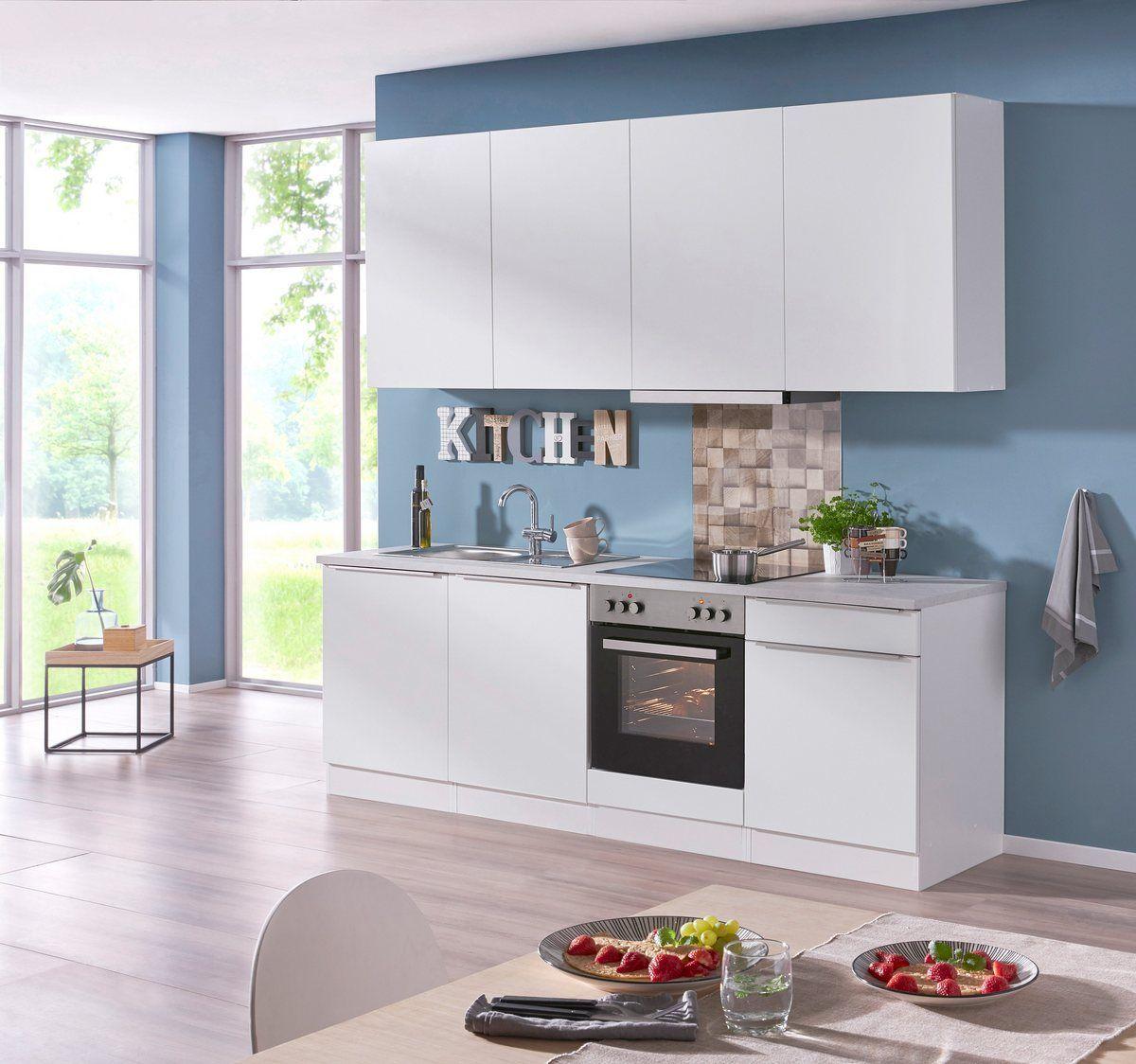 Küchenzeile mit EGeräten »Cannes«, Breite 240 cm Held