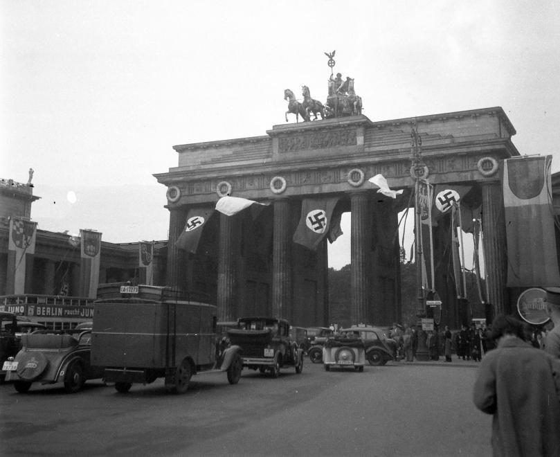 Berlin August 1936 Das Brandenburger Tor Brandenburger Tor Berlin Berlin Berlin Fotos