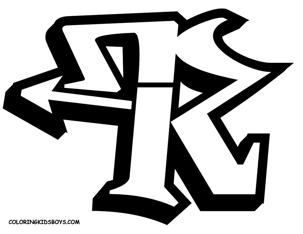 Letter R Graffiti Letters R Graffiti R Graffiti Letters R