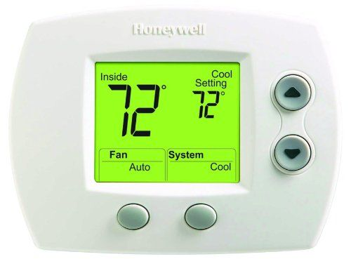 Focuspro 5000 Non Programmable Thermostat Home Thermostat Heat