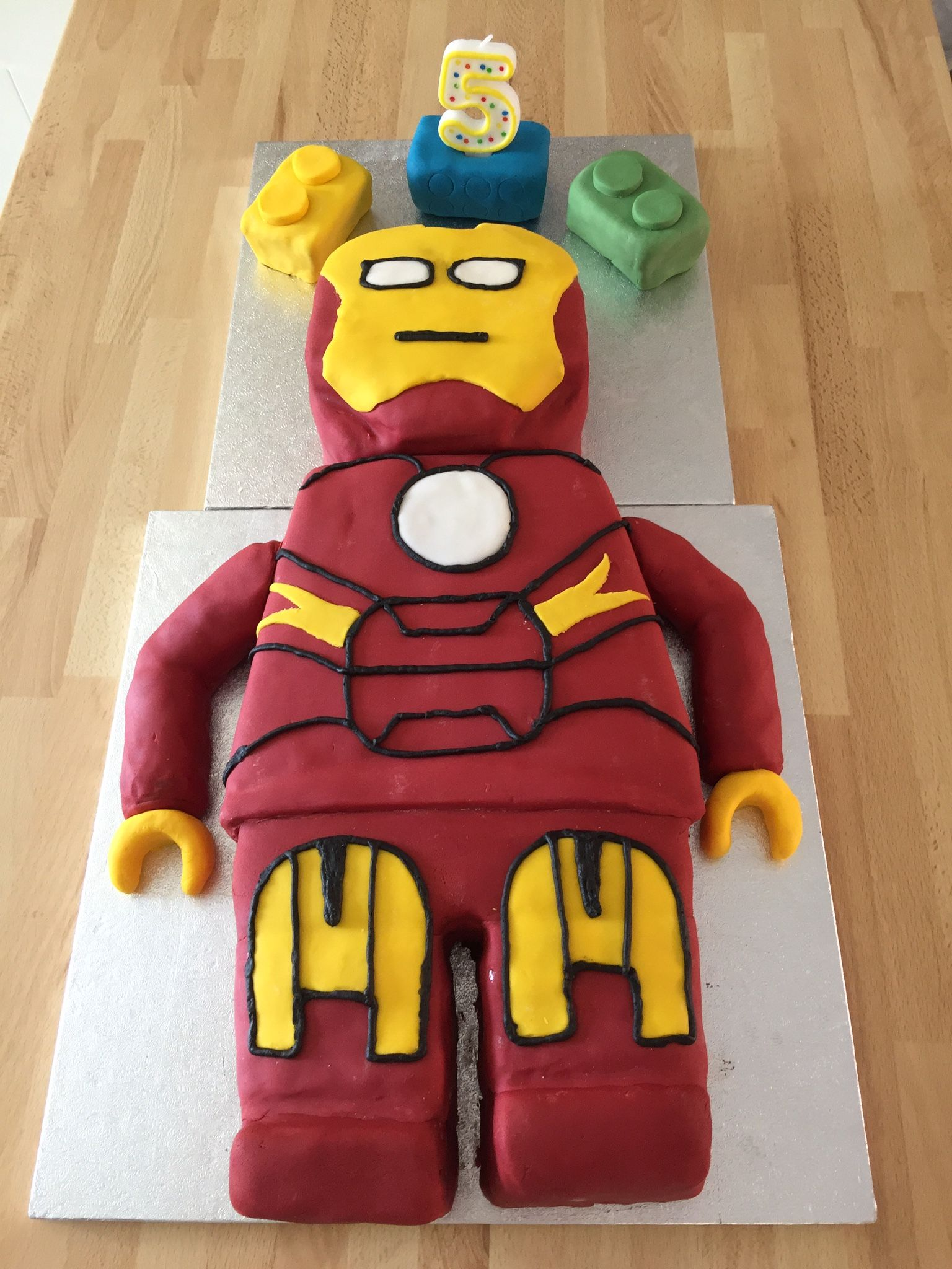 Lego Ironman marvel cake LM5 Pinterest Marvel cake Cake and