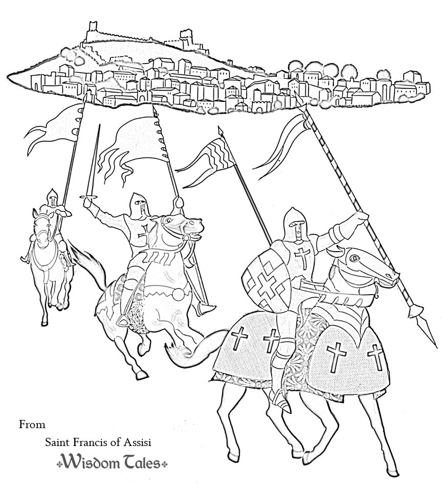 Free knight coloring page!! | Fun Summer Activities for the Kids ...