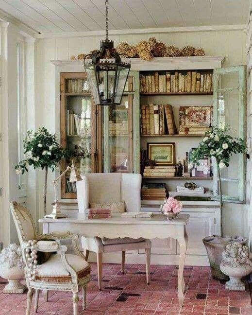 Genial Home Office Desk. Home Office Desk Shabby Chic ...
