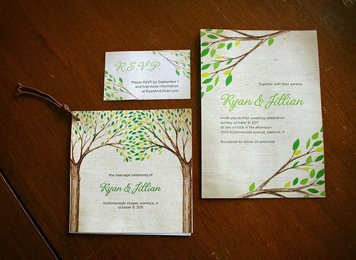 Wedding Program Inspiration