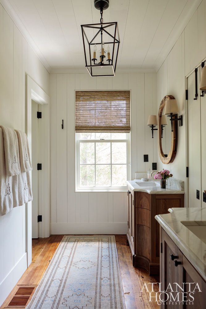 House Tour Rustic Lake Wateree Hunting Lodge With Images Home Lodge Bathroom Bathroom Decor