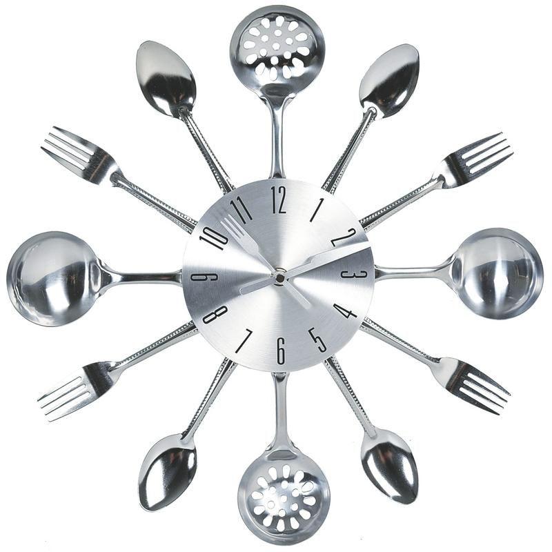 Relojes De Pared De Cocina | Cocinas Blancas Perfectas Reloj Pared Reloj Y Cocina Blanca