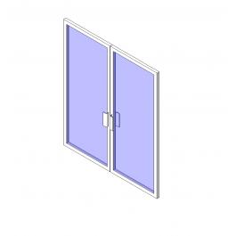 Curtain Wall Shop Front Door Revit Model Front Door Shop Curtain Wall Curtains