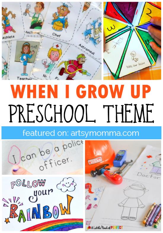 when i grow up preschool theme preschool activities preschool rh pinterest com