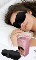 غطاء عيون Sleep Eye Mask Person No Worries