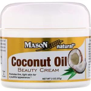 Mason Natural Coconut Oil Skin Cream 2 Oz 57 G Natural Coconut Oil Coconut Oil Beauty Beauty Cream