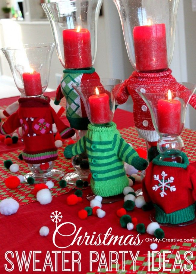 tacky christmas party ideas