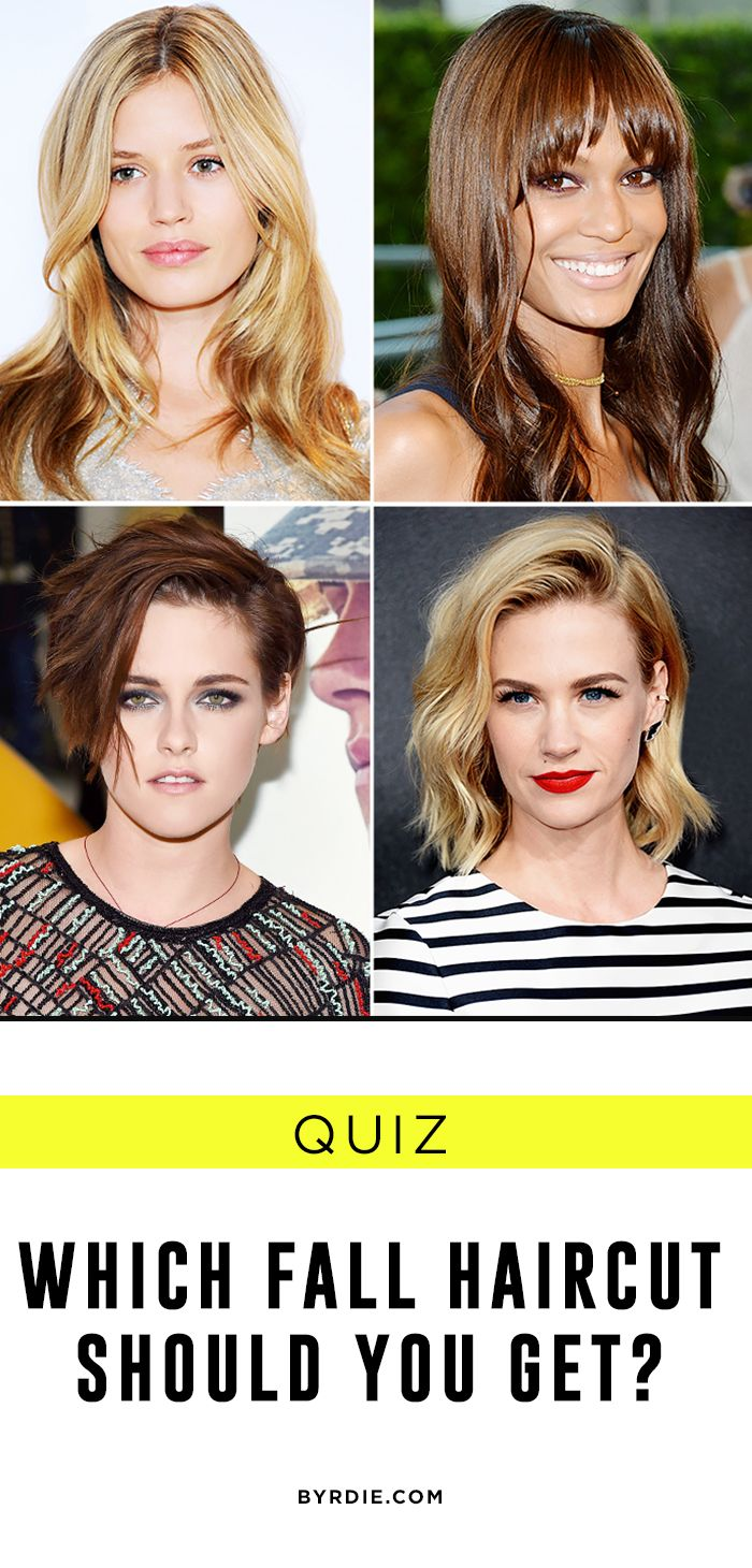 Quiz To Chop Or Not Which Fall Haircut Should You Get
