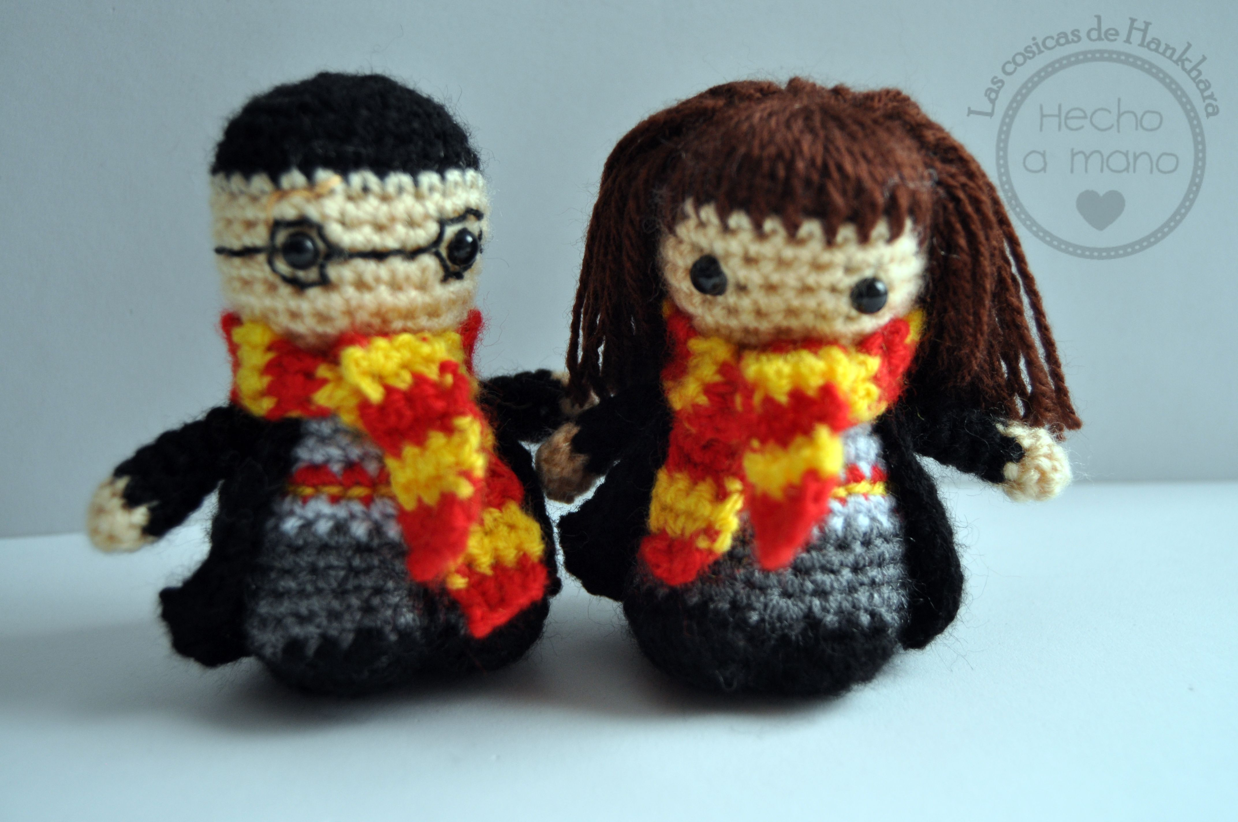 Amigurumi Crochet Personajes : Harry potter y hermione amigurumis personajes