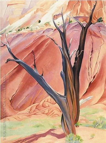 Gerald's Tree 1937 By Georgia O'Keeffe - Oil Paintings, Reproduction Art