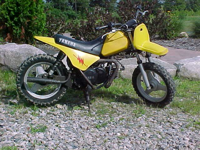 1985 Yamaha PW50 | Cars and Bikes I've had the pleasure of