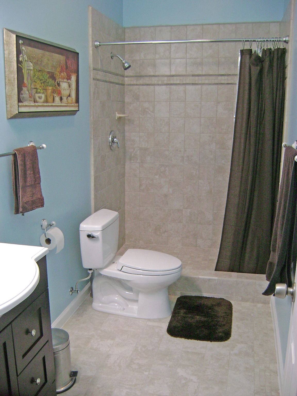 How To Finish A Basement Bathroom Basement Bathroom Design Basement Bathroom Basement Bathroom Remodeling