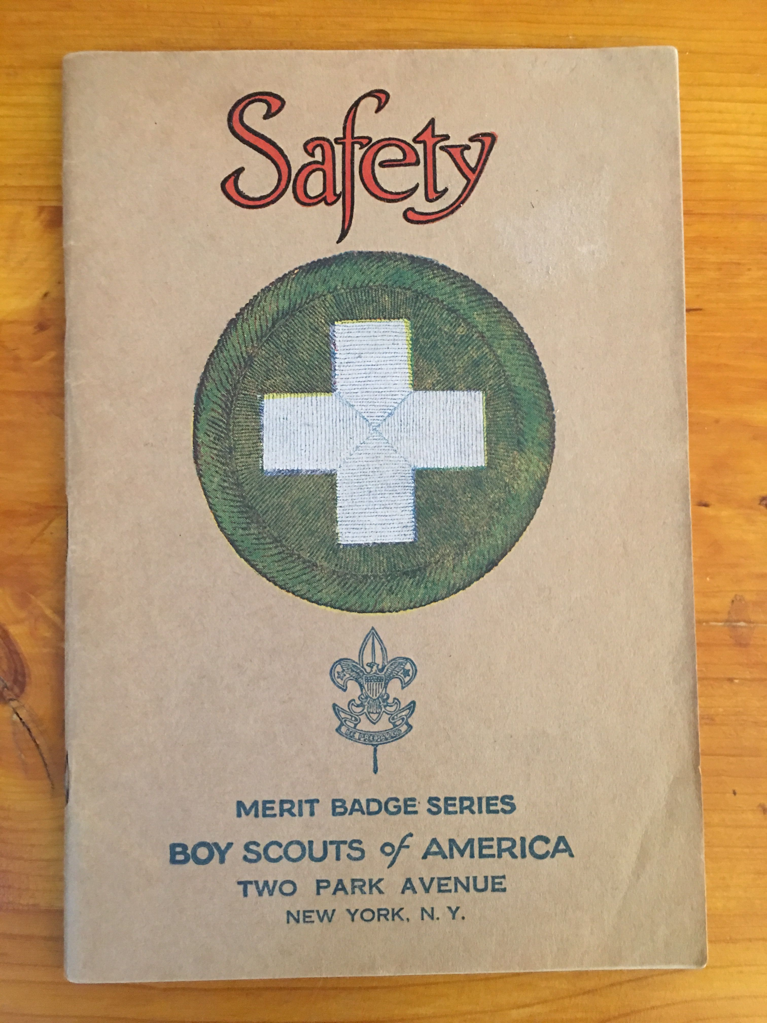 Safety Merit Badge Book With Images
